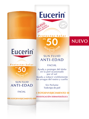 Eucerin Sun Fluid Anti-Edad FPS 50