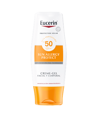 Eucerin Sun Crema/Gel Allergy FPS 50